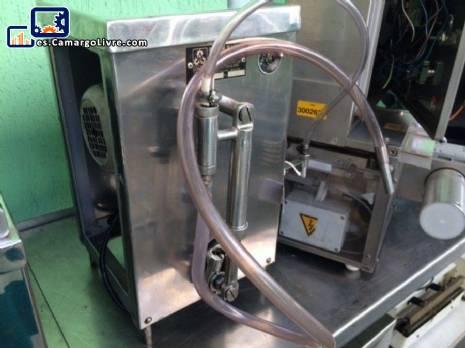 Máquina de llenado 1 pistón para líquido de 20 ml