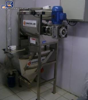 Mezclador para polvo 200 kg