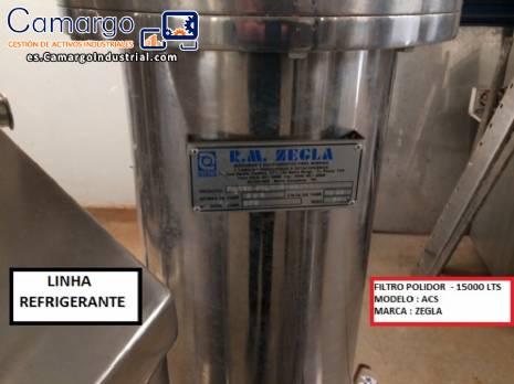 Filtro de pulido para bebidas Zegla