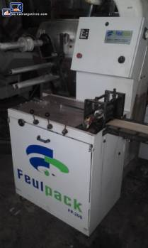 Máquina de embalaje Flow Pack Feul Pack