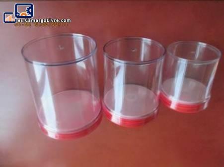Moldes para frascos herméticos especiales conjunto