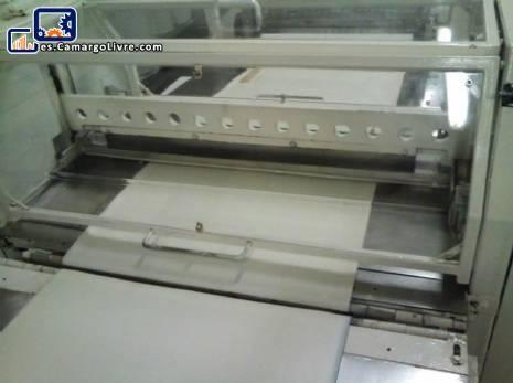 Guillotina de cuchilla horizontal automática
