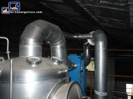 Concentrador líquido APV para 350 L
