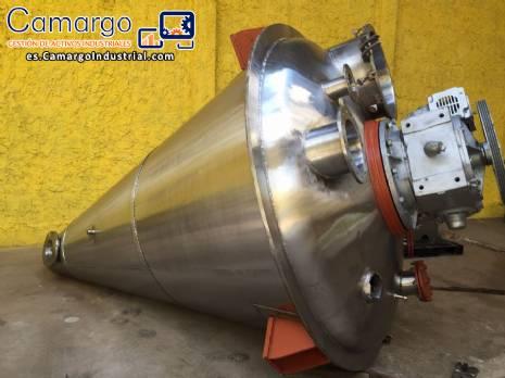 Mezclador de polvo Conemix 3.000 L Semco