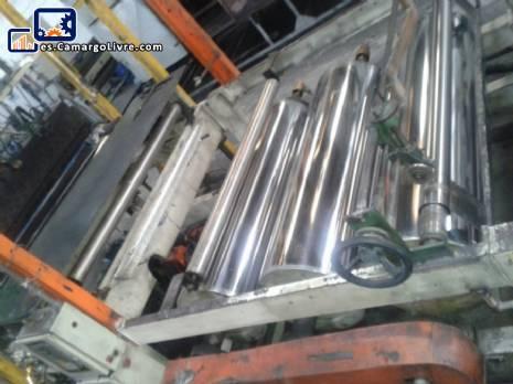 Extrusión para la producción de plásticos PVC Borgmar