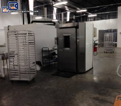 Horno industrial gas rotatorio vertical Brasforno