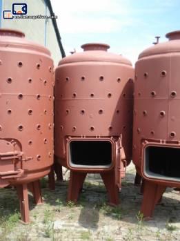 5 tanques cilíndricos verticales de carbono acero 4000 L