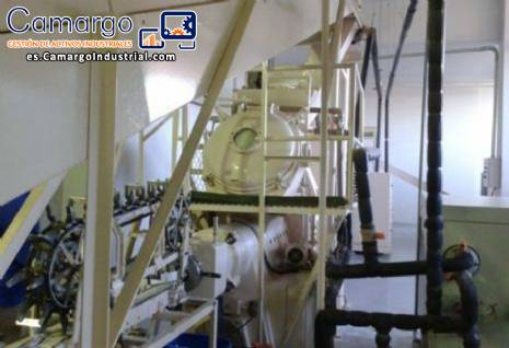 Línea para jabón a aproximadamente 1000 kg hora G.Mazzoni